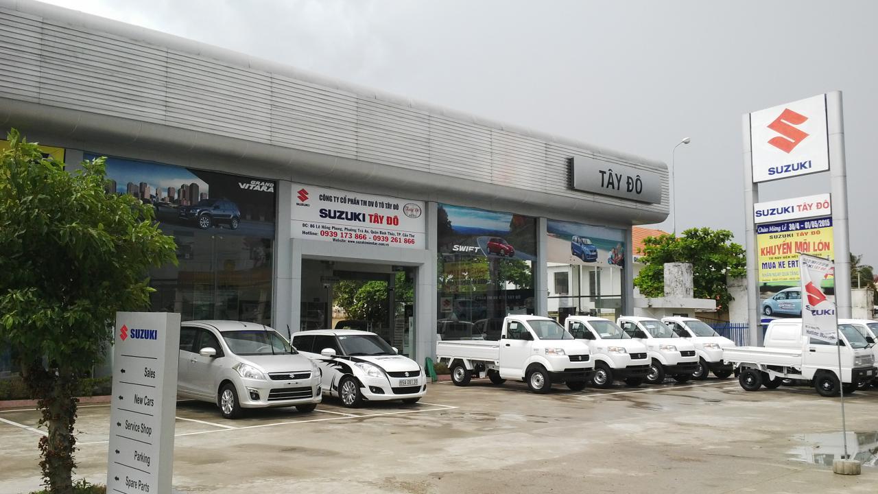 Đại lý Suzuki Tây Đô Cần Thơ