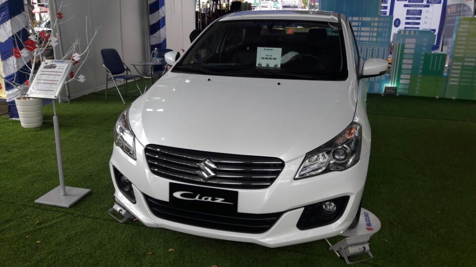 Suzuki Ciaz lần đầu tiên xuất hiện tại Cần Thơ